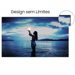 Smart TV Samsung 50 TU7020 Crystal UHD 4K 2020 Bluetooth Borda ultrafina Cinza Titan