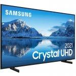 Samsung Smart TV 50 Crystal UHD 4K 50AU8000, Painel Dynamic Crystal Color, Design slim, Tela sem li