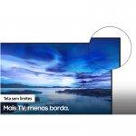 Samsung Smart TV 50 UHD 4K 50AU7700, Processador Crystal 4K, Tela sem limites, Livre de Cabos