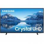 Samsung Smart TV 55 Crystal UHD 4K 55AU8000, Painel Dynamic Crystal Color, Design slim, Tela sem li