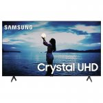 Smart TV Samsung 58 TU7020 Crystal UHD 4K 2020 Bluetooth Borda ultrafina Cinza Titan