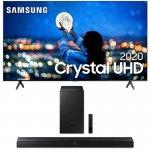 Combo Smart TV Samsung 65 TU7000 Crystal UHD 4K 2020 Bluetooth Preto E Soundbar Samsung Bluetooth
