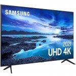 Samsung Smart TV 70 UHD 4K 70AU7700, Processador Crystal 4K, Tela sem limites, Visual Livre de Cabo