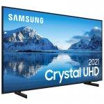 Samsung Smart TV 75 Crystal UHD 4K 75AU8000, Painel Dynamic Crystal Color, Design slim