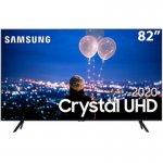 Combo Smart TV Samsung 82 Crystal UHD 4K U8000 Borda Ultrafina E Soundbar Samsung Bluetooth