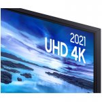 Samsung Smart TV 43 UHD 4K 43AU7700, Processador Crystal 4K, Tela sem limites, Alexa built in