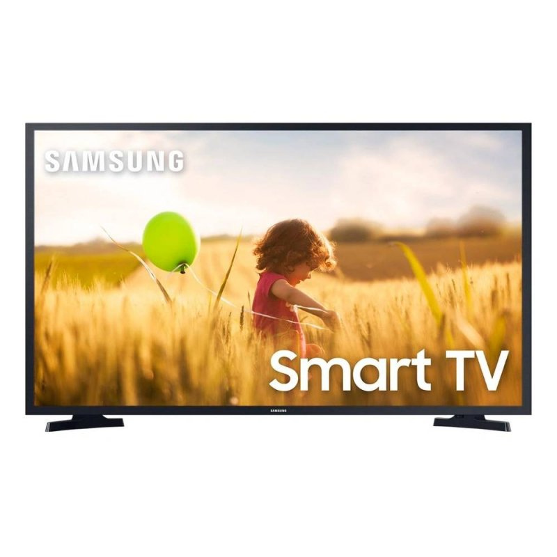 Smart TV 43 Samsung Full HD HDR 2020 T5300 Sistema Tizen Wifi USB HDMI Preta