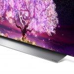 Smart TV LG 65 OLED65C1 120Hz G-Sync Free HDMI 2.1 ThinqAI Google Alexa Prateado