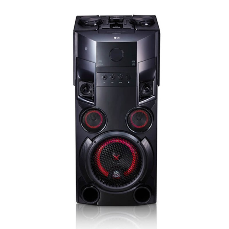 Mini System LG X Boom Festa OM5560 Bivolt Preto 500W USB com Multi Bluetooth