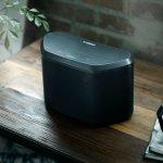 Caixa de Som WX-030 Bluetooth MusicCast Yamaha Preta Bivolt AirPlay Wifi Spotify 30W RMS