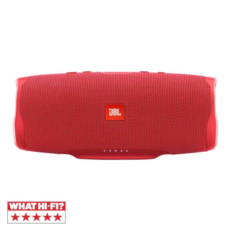 Caixa de som portátil JBL Charge 4 Bluetooth 20 horas de reprodução à prova de água Vermelha