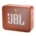 Caixa de Som Portátil JBL GO 2 Bluetooth À Prova De Água Laranja