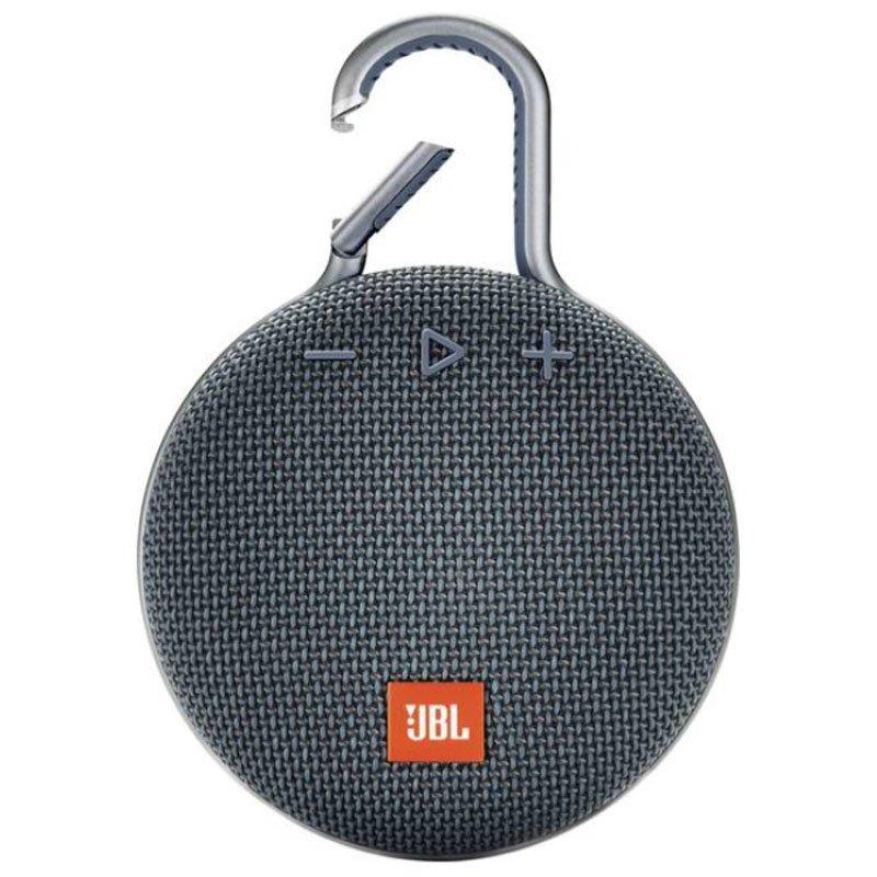 Caixa de Som JBLCLIP3BLU Bluetooth a Prova de Água Azul