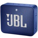 Caixa de Som JBL Bluetooth à Prova de Água GO 2 Azul