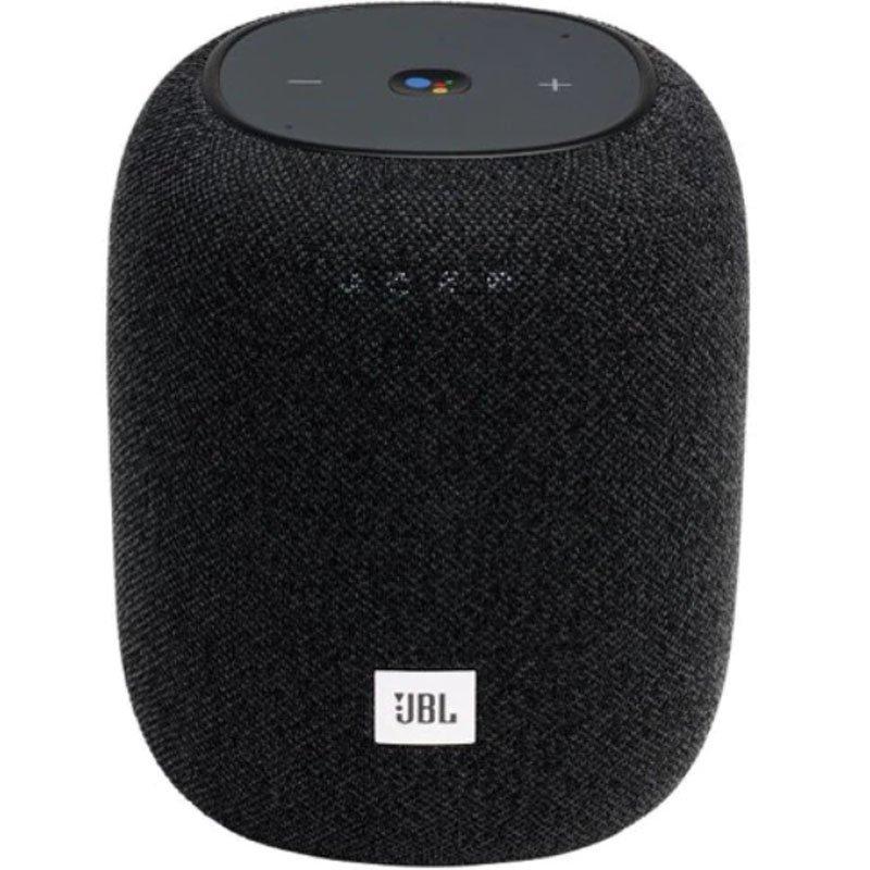 Caixa de Som Portátil ativada por voz JBL Link Music Bluetooth Preto