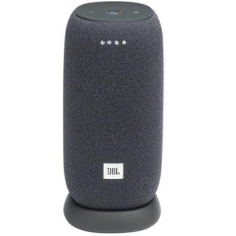 Caixa de Som Portátil ativada por voz JBL Link Portable Bluetooth a prova de água Cinza