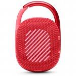 Caixa de Som Portátil Bluetooth JBL CLIP 4 Vermelho A Prova D'agua