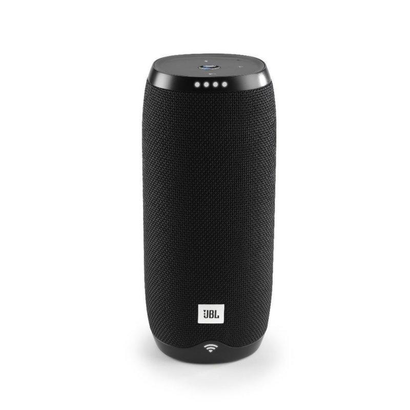Caixa de Som Portátil JBL Link 20 Bluetooth Ativada por Voz Google Assistante Preto
