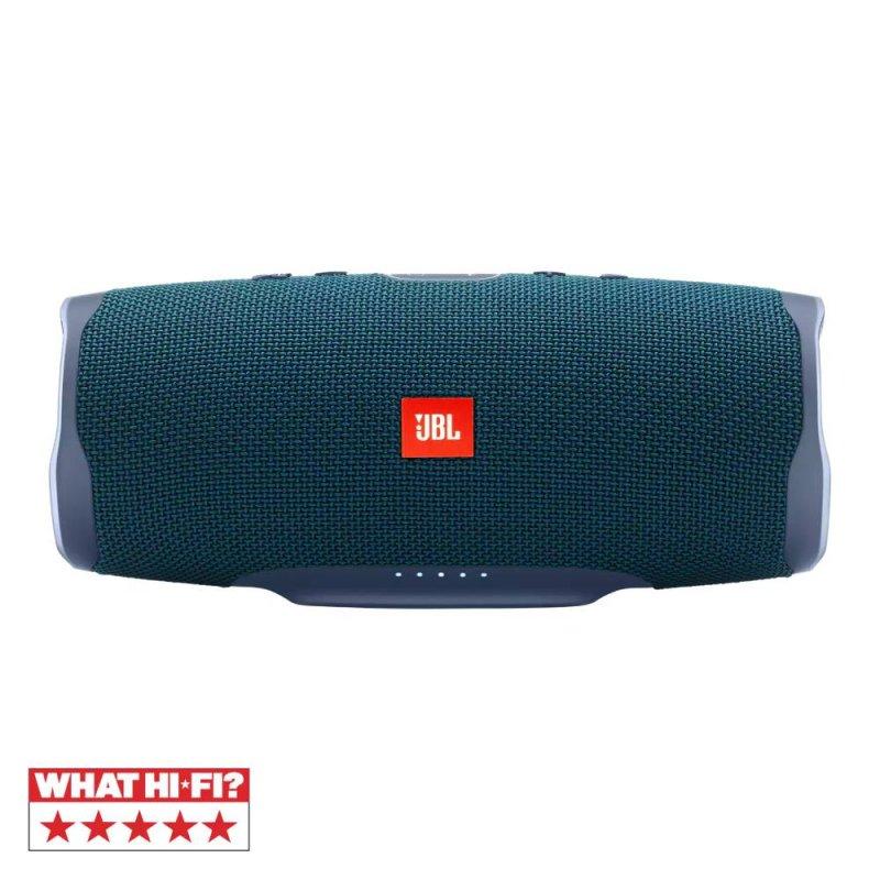 Caixa de som portátil JBL Charge 4 Bluetooth 20 horas de reprodução à prova de água Azul