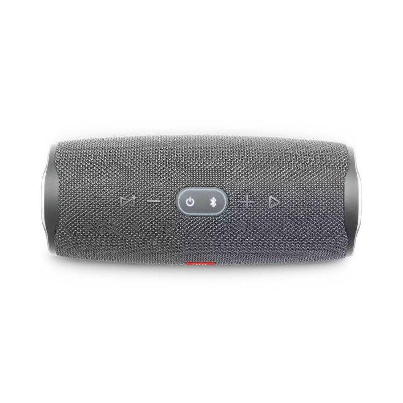 Caixa de som portátil JBL Charge 4 Bluetooth 20 horas de reprodução à prova de água Cinza