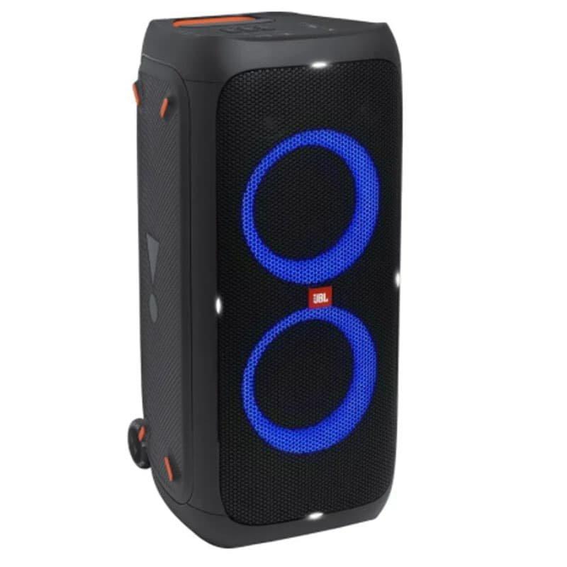 Caixa de Som Portátil JBL PartyBox310 Bluetooth para Festas com Efeitos de Luzes Preto