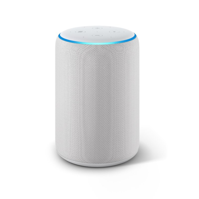 Echo Amazon Smart Speaker Alexa 3a Geração em Portugues Branco