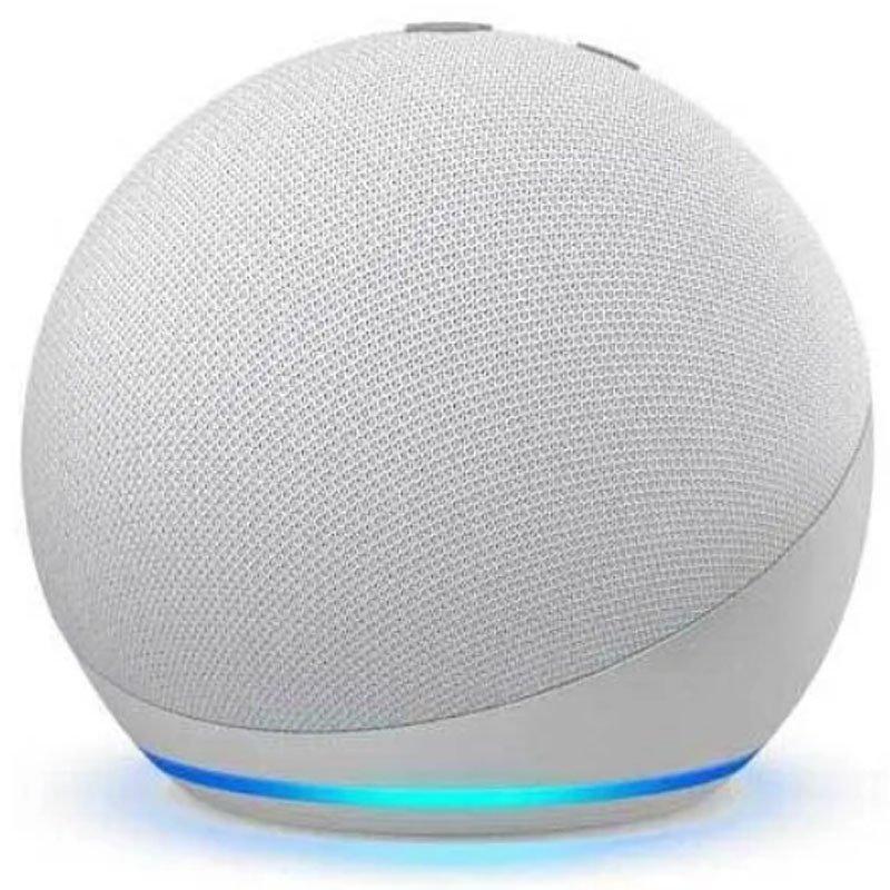 Echo Dot 4a geração Smart Speaker com Alexa - Cor Branca