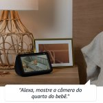 Echo Show 5 Amazon Smart Speaker Branca Alexa em Português com Tela de 5,