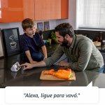 Echo Show 5 Amazon Smart Speaker Preta Alexa em Portugues com Tela de 5,5