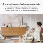 Google Nest Audio Carvão Speaker com Google Assistente
