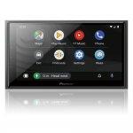 Multimídia Pioneer Receiver com Tela 6,8 DMH-Z6380TV TV Digital Bluetooth USB HDMI Preto