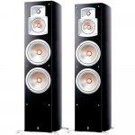 Par de Caixas Acústicas Yamaha NS-777BL com 250W RMS de Potência