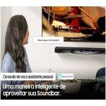 Soundbar Samsung HW-Q800A com 3.1.2 Canais Bluetooth 330W Subwoofer sem fio Dolby Atmos Acoustic Bea