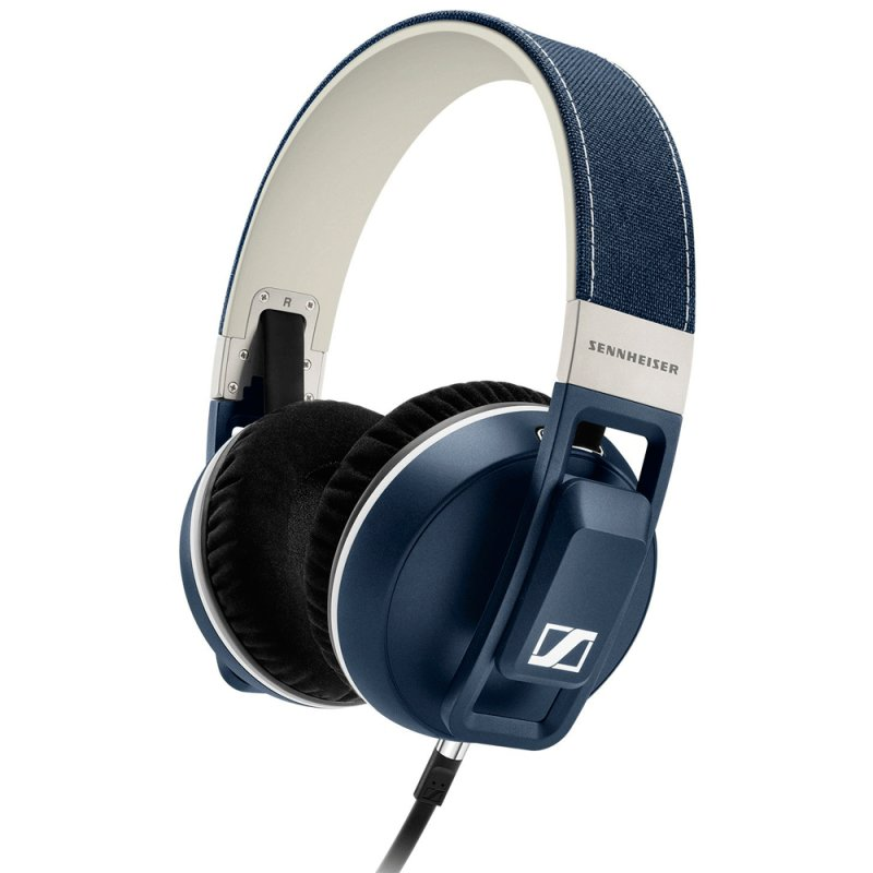Headphone Sennheiser Urbanite Denin com Cabo de 1,2m e Haste Acolchoada