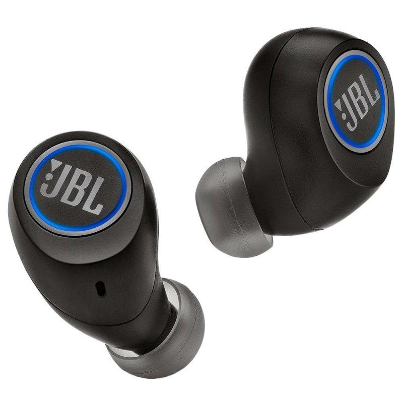 Fone de Ouvido Bluetooth Recarregável Preto Intra Auricular JBL Free