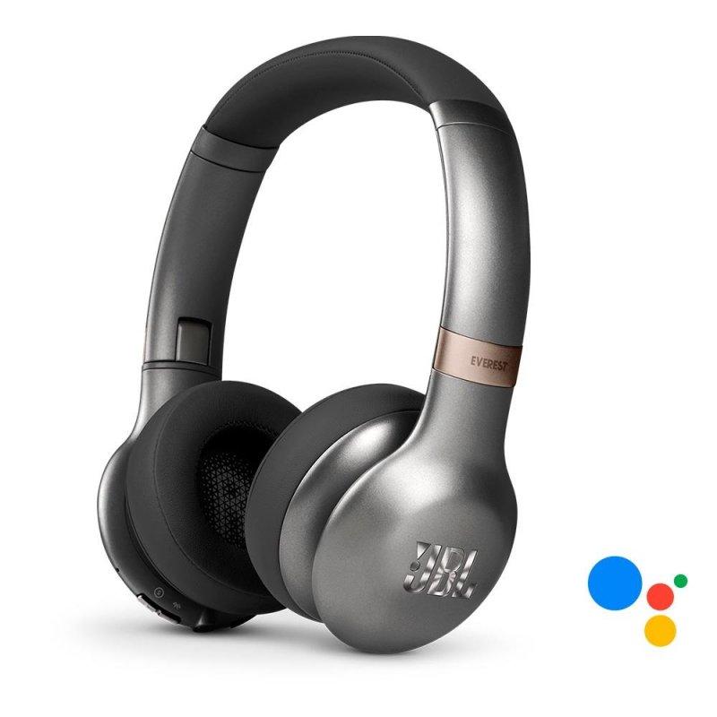 Headphone sem fio JBL Everest 310 V310 Gun Metal Bluetooth com Google Assistant