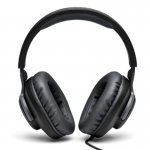Fone de Ouvido JBL Quantum100 Over Ear para Jogos com Fio e um Microfone Removível Preto