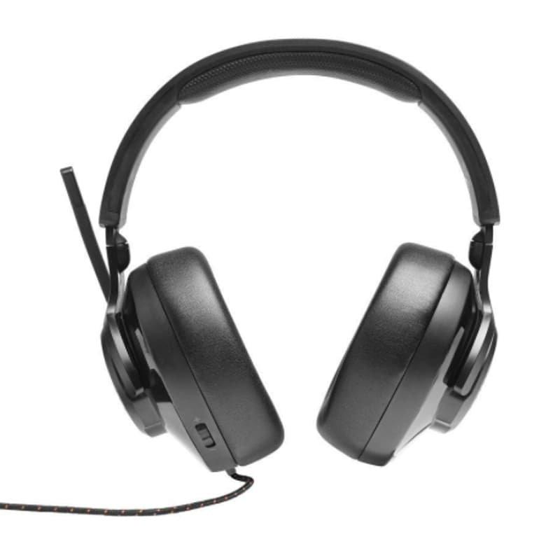 Fone de Ouvido JBLQuantum300 USB Over Ear para Jogos com Chat Balance para Jogo e Bate Papo Preto