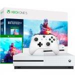 Xbox One S 1TB Battlefield V Branco Microsoft