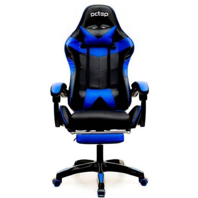 Cadeira Gamer 1022 Pctop Azul/Preto