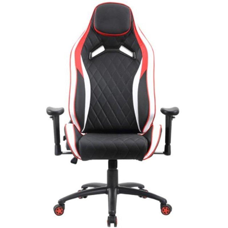 Cadeira Gamer Premium 1020 Pctop Vermelho/Branco/Preto