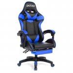 Cadeira Gamer PCTop Racer 1006 Azul