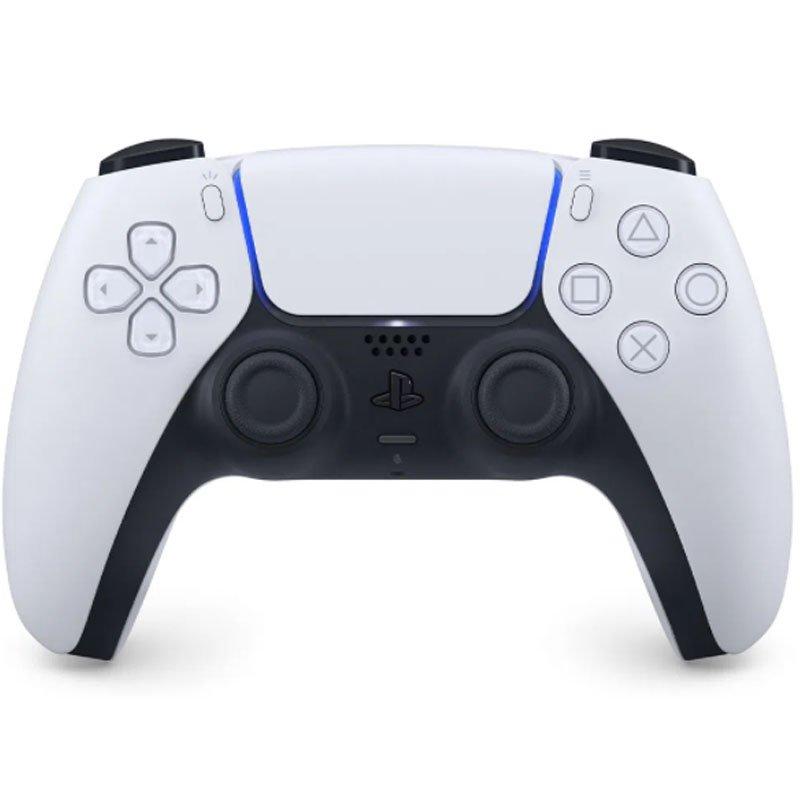 Controle Sem Fio Sony Para PlayStation 5 Dualsense Branco
