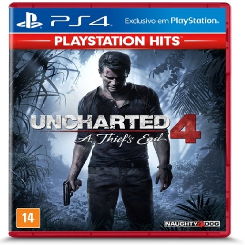 Jogo PS4 Uncharted 4 A Thiefs End Hits
