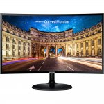 Monitor Gamer Curvo Samsung 24 LED Full HD LC24F390FHLMZD HDMI Entrada para Headphone Preto
