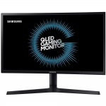 Monitor Gamer Curvo Samsung 24 QLED LC24FG73FQLXZD HDMI Display Port 1ms 144hz Free Sync Preto
