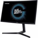 Monitor Gamer Curvo Samsung Odyssey 24 QLED LC24FG73FQLXZD HDMI Display Port 1ms 144hz Free Sync