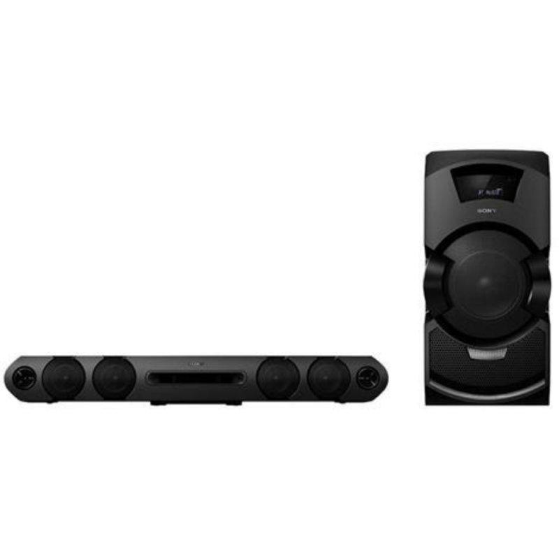 48e47c7ef Mini System Flex Sony MHC-GT3D Bivolt Sony 600W RMS Preto com Entrada USB  Bluetooth e NFC - Compre Online
