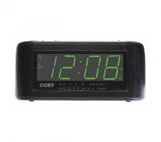 3075af285eb Rádio Relógio Coby CRA108BR - Compre Online