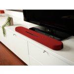 Soundbar 7.1 Canais 120W RMS Com DTS Virtual X HDMI Bluetooth Yamaha YAS-108R Vermelho Bivolt